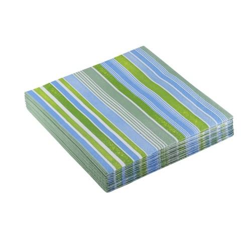 Curls blue napkins