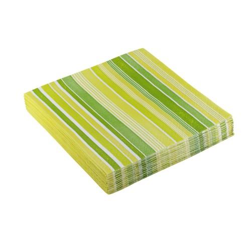 Curls green napkins