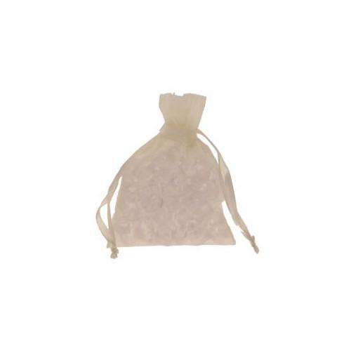 Organza vrečke-bele