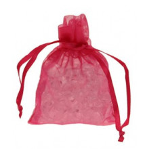 Organza vrečke-Srebrne