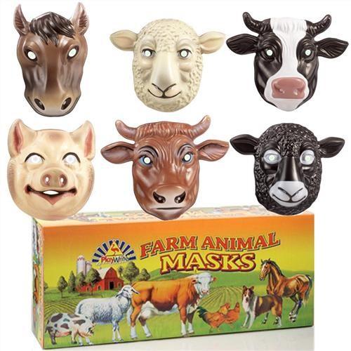 Otroške maske Domače živali