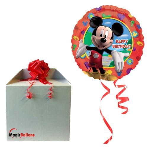 Mickey Party-Ballon Alu mit Helium befüllt
