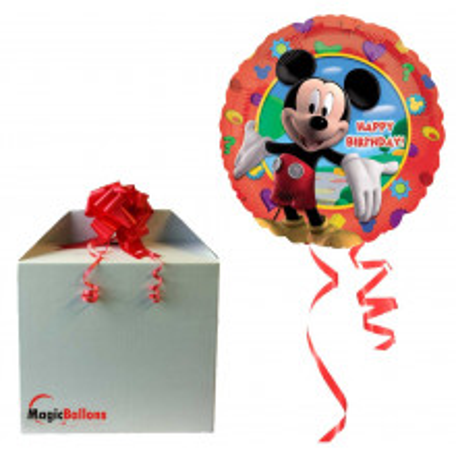 Mickey Party Alu balon - napihnjen
