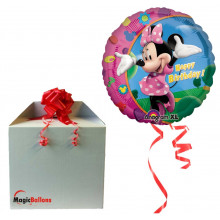 Minnie Happy Birthday - folija balon v paketu