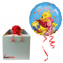 Winnie the Pooh Honey Birthday - folija balon v paketu