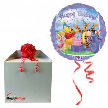Pooh and Friends Birthday - folija balon v paketu