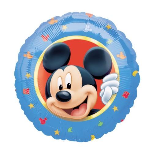 Mickey & Friends happy Birthday Alu balon