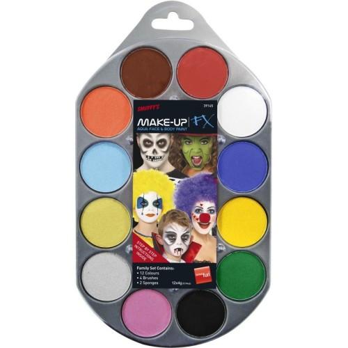 Barvna paleta - Make up