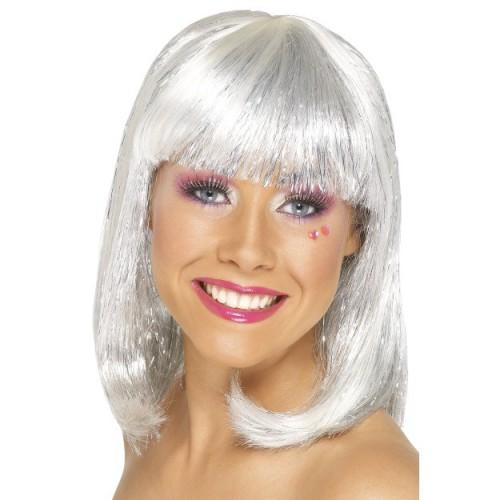 Glitter wig