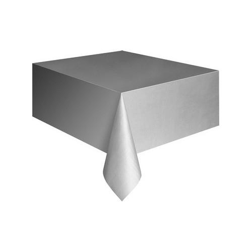 Plastik Tischdecke-Weiße