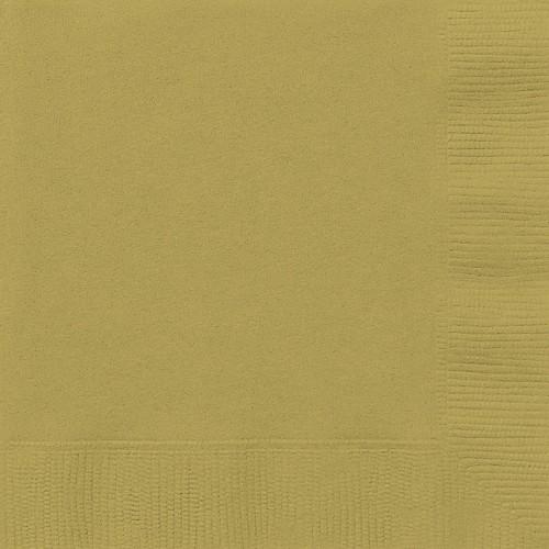 Gold party-Beverage napkins