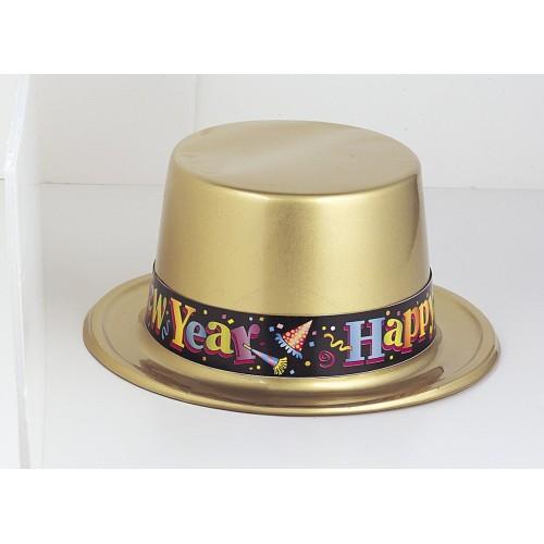 New Year plastic hat