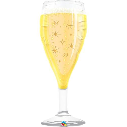 Bubbly Wine Glass - folija balon
