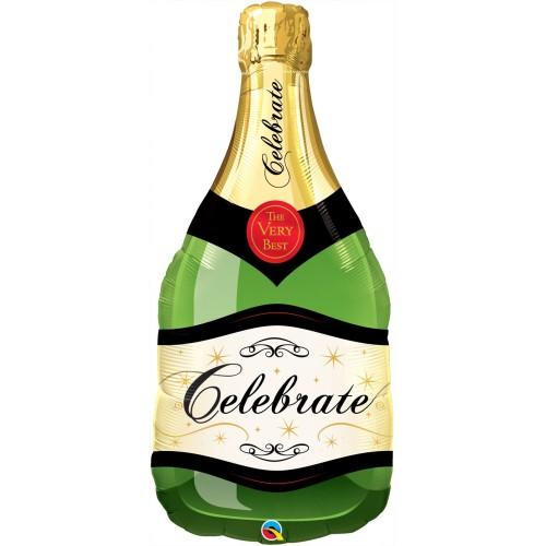 Celebrate Bubbly Wine bottle - folija balon