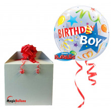 Birthday Boy party hats-in the box