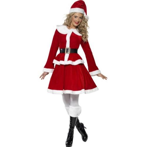 Miss Santa kostum