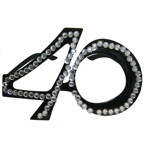 30 black glasses