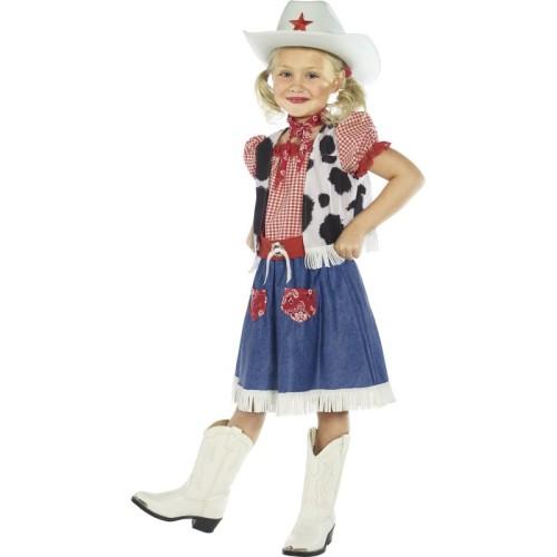 Rodeo dekle kostum