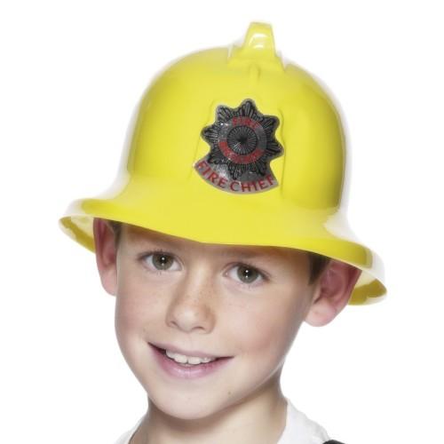 Fire chief helmet