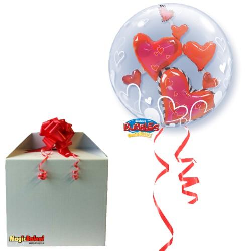 Lovely Floating Hearts - napihnjen