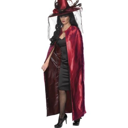 Čarovniško rdeče črno ogrinjalo