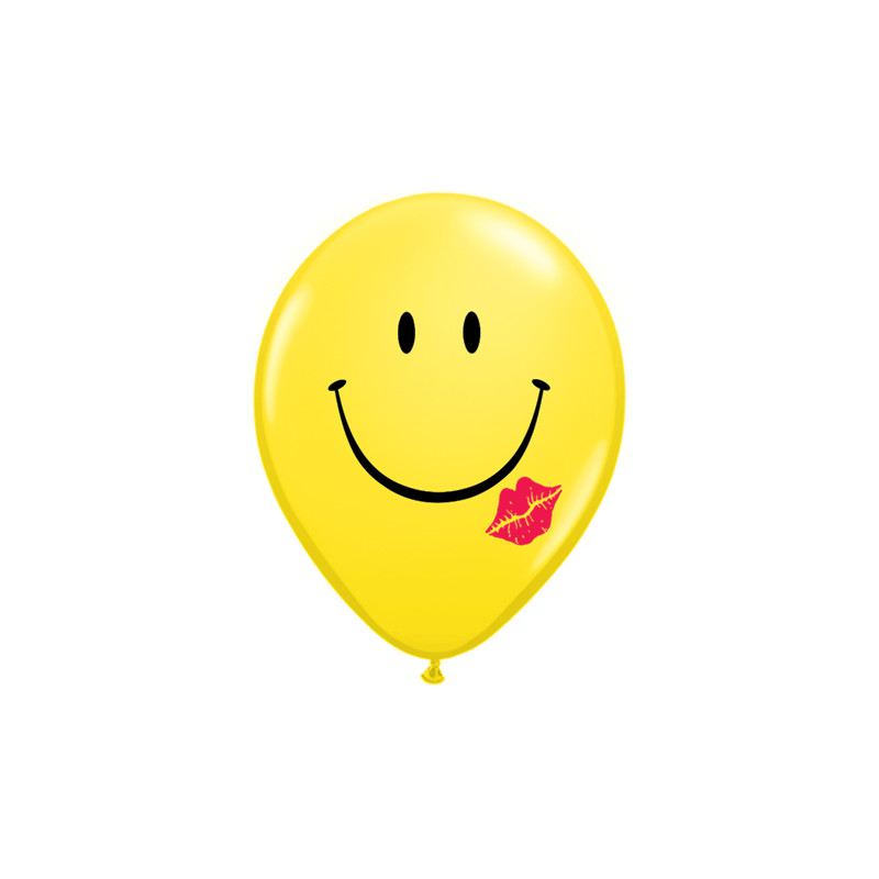 Balon A Smile & A Kiss 28 cm