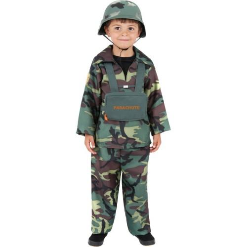 Army boy - children costume