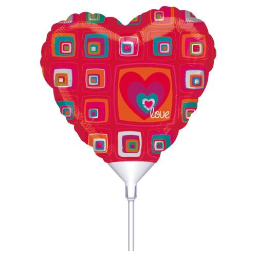 Funky Heart Love 23cm na palèki