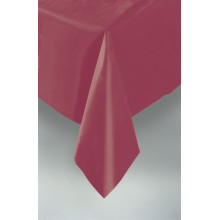 Plastic tablecover-red