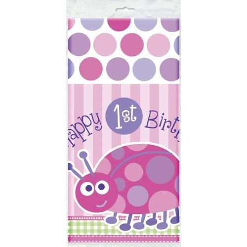 First birthday pink - Tischdecke