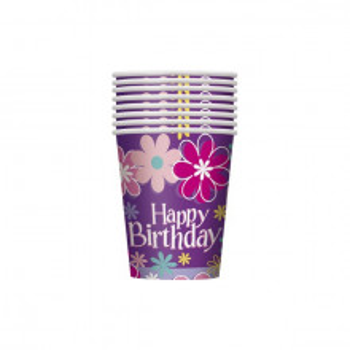 Birthday Blossom cups