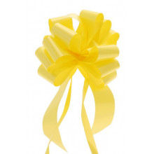 Pull bow yellow 3 cm