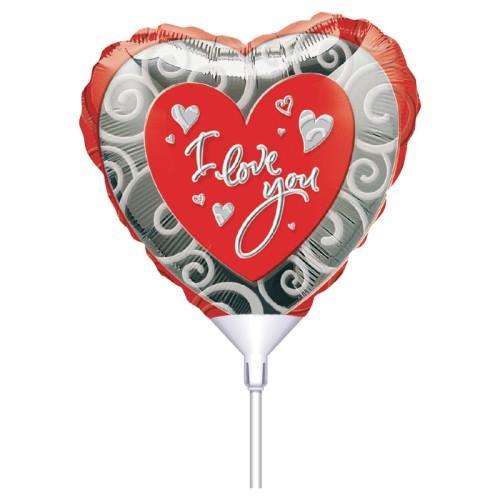 The Heart Love You 23cm na palèki