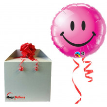 Smiley face wild berry - folija balon v paketu