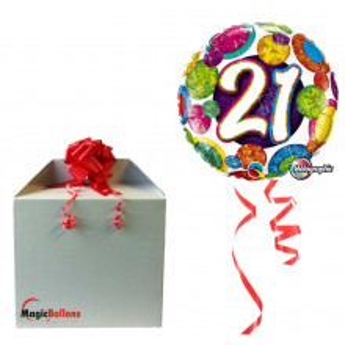 Balloon  18 Big Dots & Glitz
