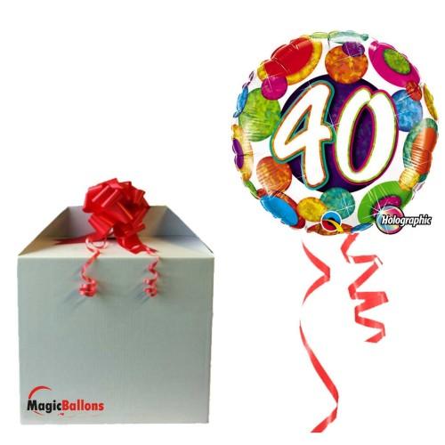 Balloon  30 Big Dots & Glitz