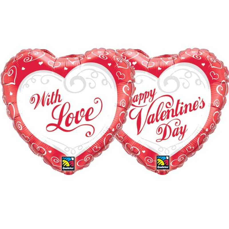 Valentine's Swirl Hearts