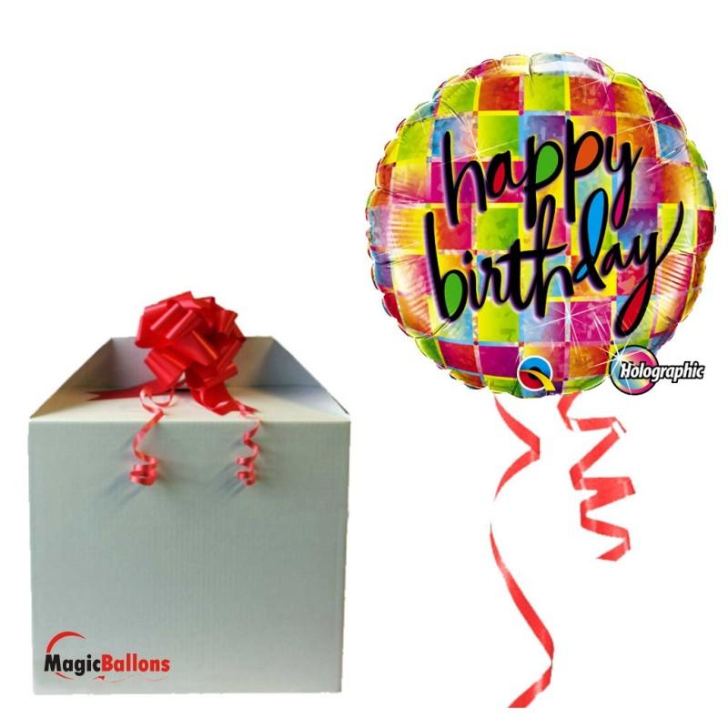 Balloon Birthday Funky Dots