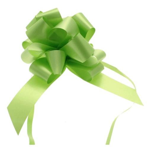 Svetlo zelene mašne 3 cm