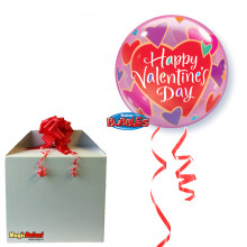 Valentine Colourful Hearts - napihnjen