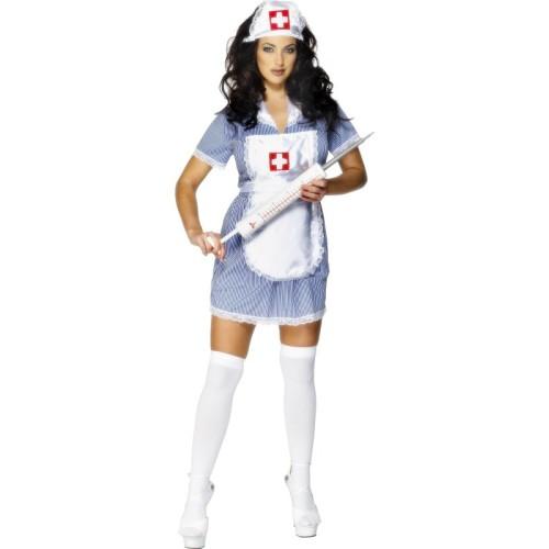 Sexy medicinska sestra kostum