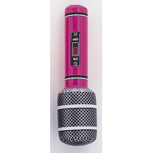 Inflatable mini microphone-red