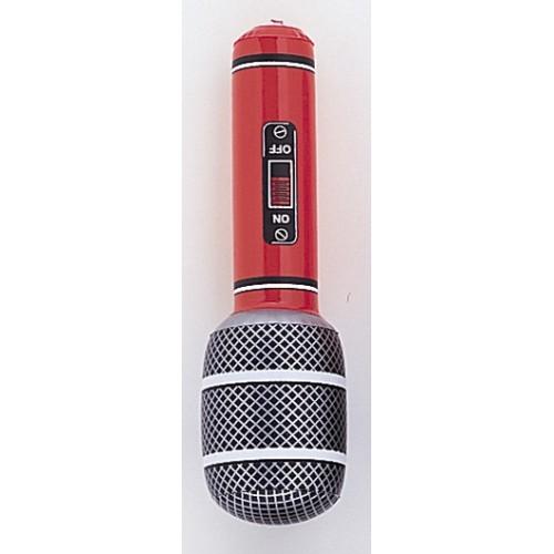 Napihljiv jumbo mikrofon - oranžen