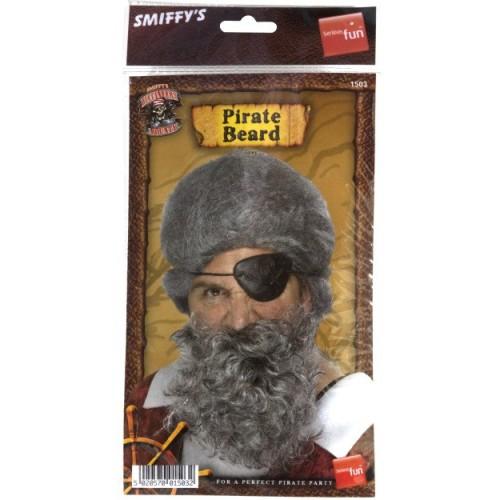 Pirate- beard deluxe brown