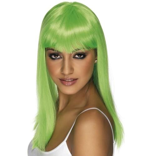 Glamourama neon yellow wig