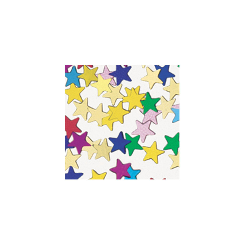 Konfetki - Assorted Stars Mini