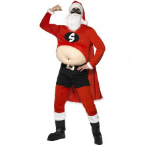 Super Božiček kostum
