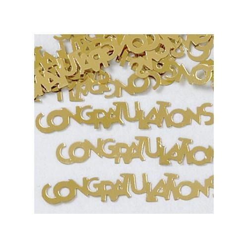 Konfetki - Congratulations Gold