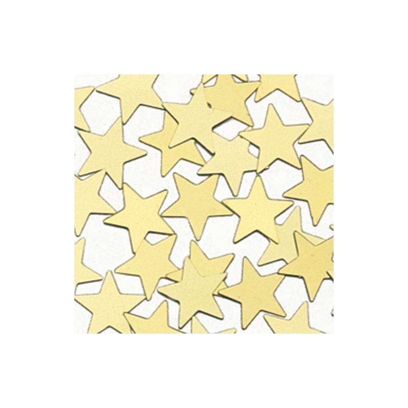 Konfetki - Gold Stars Large
