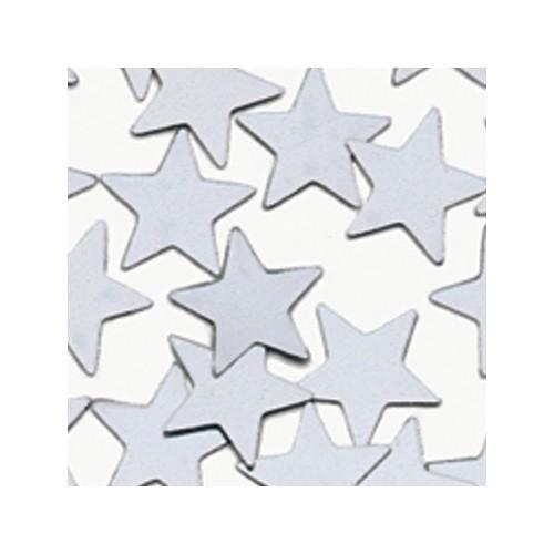 Konfetki - Silver Stars Large